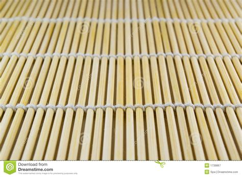 bamboo sushi mat royalty free stock photography image