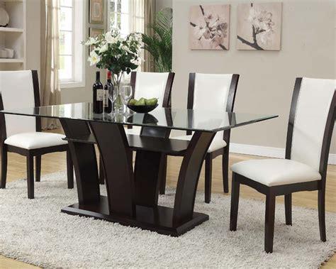 acme furniture dining room set home furniture design dining set w rectangular table malik by acme furniture