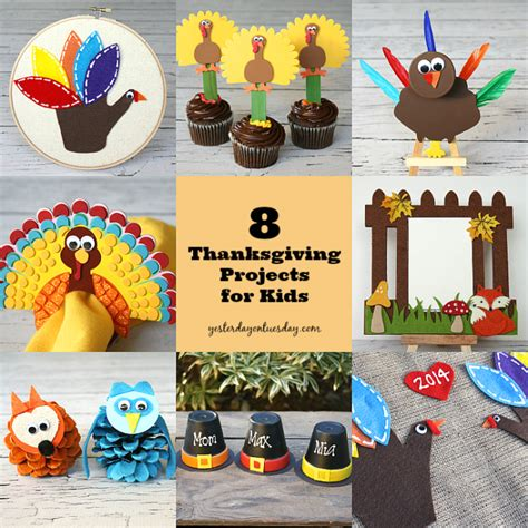 craft projects for thanksgiving 8 thanksgiving projects for yesterday on tuesday