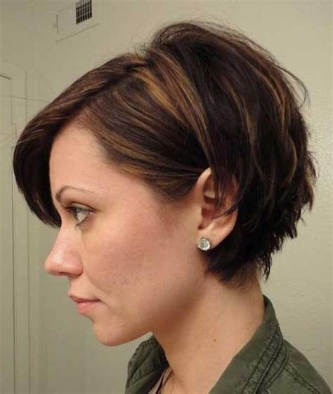 hair styles on pinterest round faces stephanie powers 20 best of choppy short haircuts