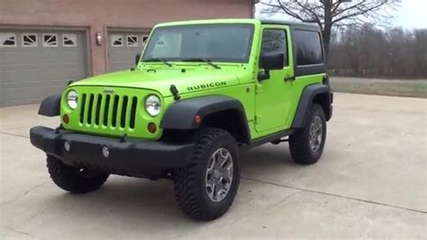 gecko green jeep hd 2013 jeep wrangler rubicon gecko green for sale