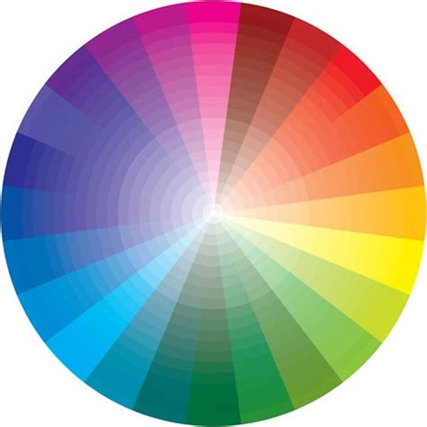 web color wheel color theory in web design mactale