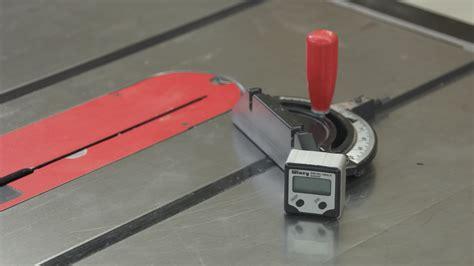 digital angle gauge  set table  miter gauge