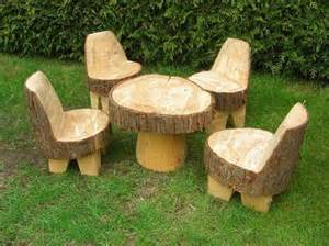 Tree Trunk Table Base Recycled Tree Trunks Recycled Things