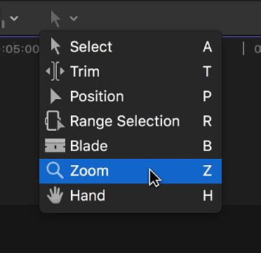 final cut pro zoom cursor final cut pro x zoom and scroll in the timeline