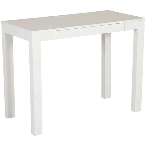 white parsons desk 9178096 ameriwood industries afw