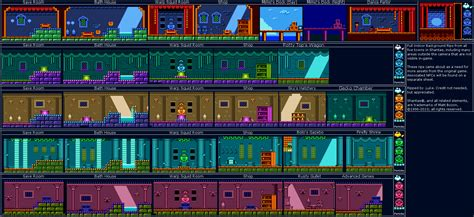 shantae gameboy color shantae gbc indoor town background rips