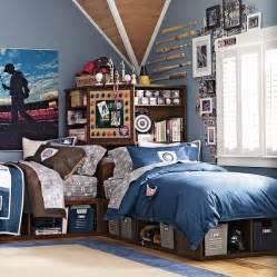 twin teenage boys bedroom