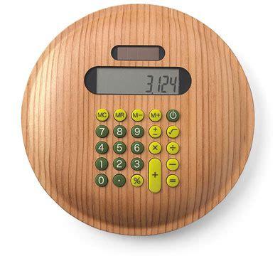 Takumi Shimamuras Wooden Calculator Just In Time For Tax Season by Calculadora De Madeira Chic