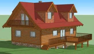 Free 3d Log Home Design Software Download by 3d Model Google Sketchup