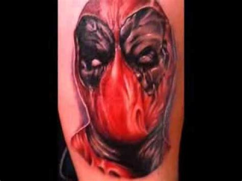 deadpool tattoo timelapse youtube