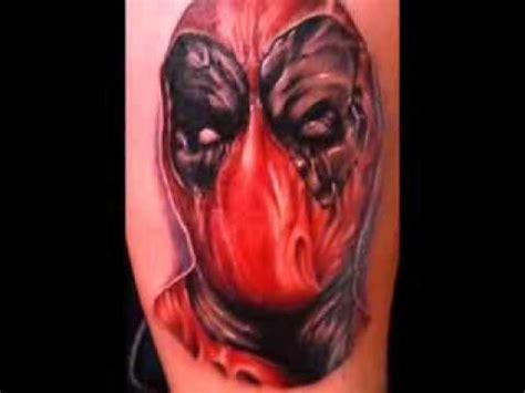 deadpool tattoo timelapse youtube