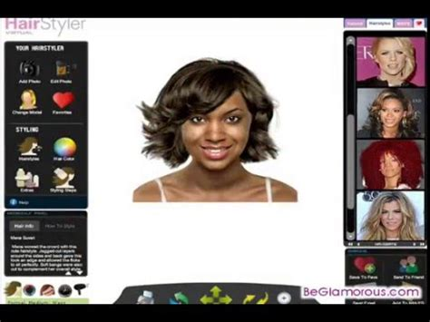virtual hair colour changer virtual hairstyles for blacks african americans women