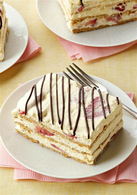 Easy But Scrumptious Dessert by Strawberry Icebox Cake Need To 16 With A