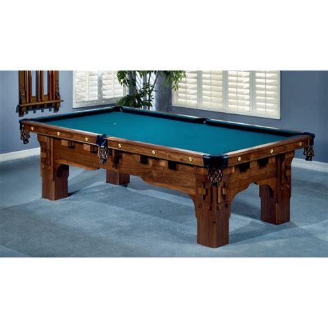 brunswick mission pool table bernard mission pool table
