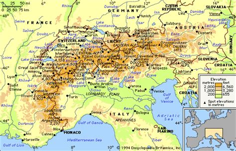 map of alps taylor6ss unit 1 european geography