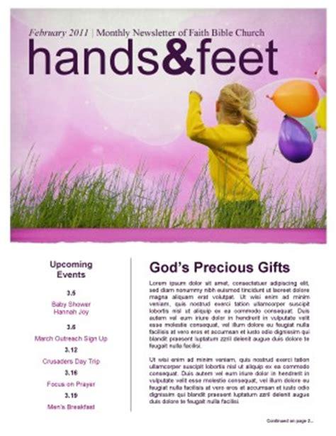 Children Newsletter Template Template Newsletter Templates Children S Ministry Newsletter Template