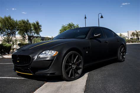 maserati quattroporte matte black maserati quattroporte matte black incognito wraps