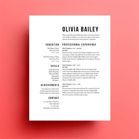 Resume Template Best Design 17 Best Ideas About Graphic Designer Resume On