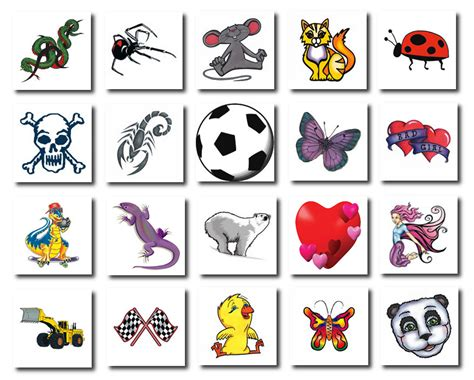 admin temporary tattoos australia