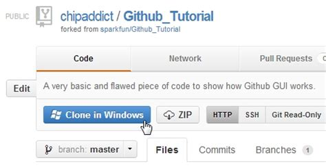tutorial github windows 7 using github learn sparkfun com