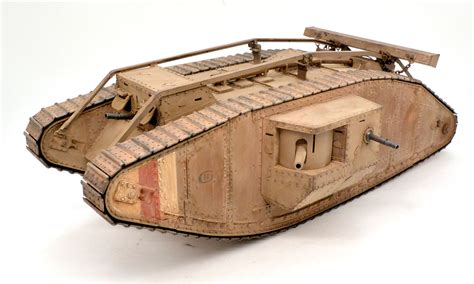 Ww1 イギリス戦車 マーク4メール その6 完成 プラモ日記 The Tank Coloring Pages