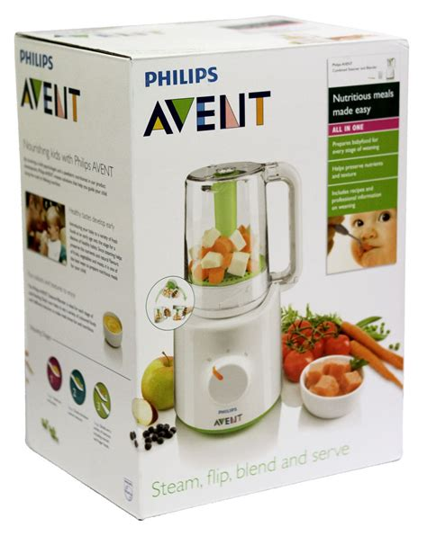 Blender Mini Avent philips avent combined steamer blender babylike store