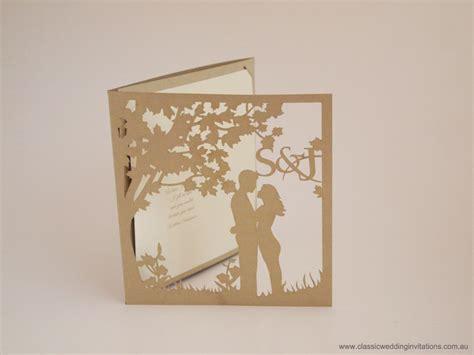 laser cut wedding invitation designs classic wedding invitations custom