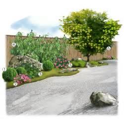 jardin zen jardin 233 vasion jardineries truffaut projet