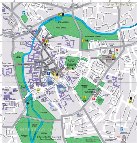 cambridge map maps update 26002707 travel map cambridge map