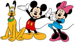 mickey minnie and pluto clip art 3 disney clip art galore