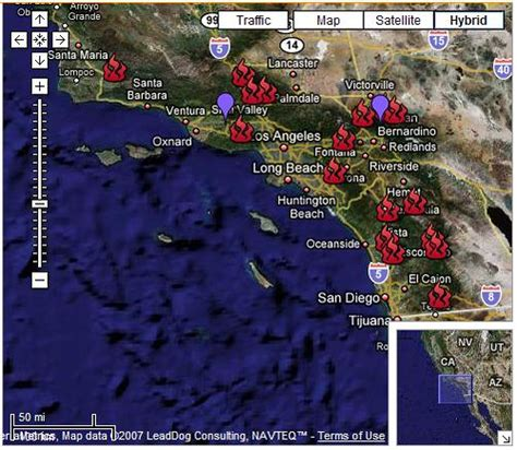 california fires live map california wildfires map flickr photo