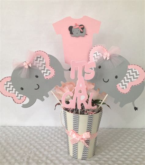 Elephant Baby Shower Decorations by Elephant Baby Shower Centerpiece Ideas Home Theme