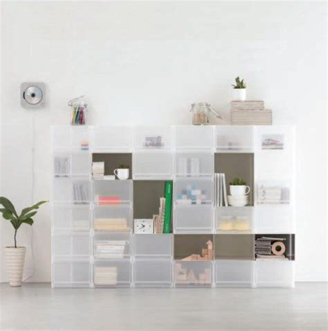 Muji Dresser by Best 25 Stackable Storage Boxes Ideas On