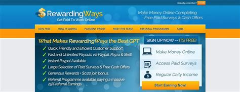 Paid To Do Online Surveys - earn daily income online get paid to do online surveys