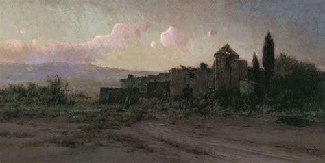 Lukisan Landscape 186 X 96 Cm modest urgell i inglada paisaje 211 leo sobre lienzo 96 x 186 cm colecci 243 n thyssen
