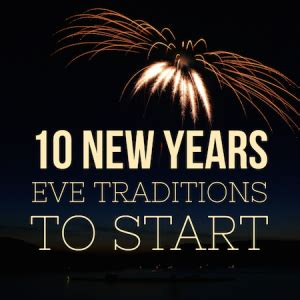 10 ways to a great new years at home