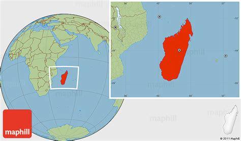 where is madagascar on a world map savanna style location map of madagascar