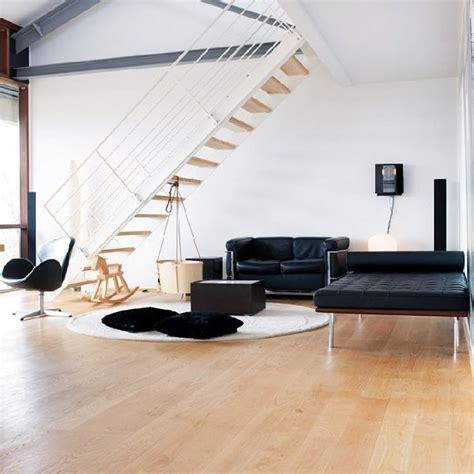 imagenes en blanco y negro para decorar decorar loft en blanco y negro