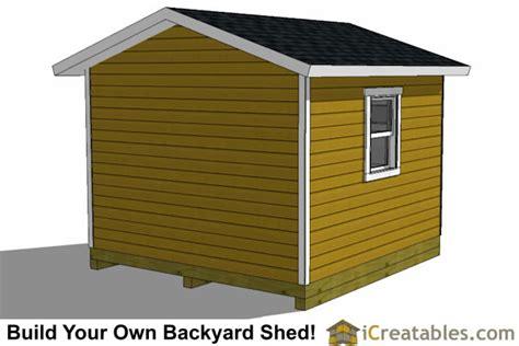 12x12 Overhead Door 12x12 Shed Plans With Garage Door Icreatables