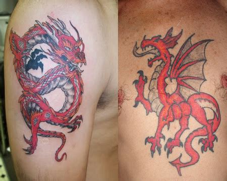 welsh dragon tattoo www pixshark com images galleries