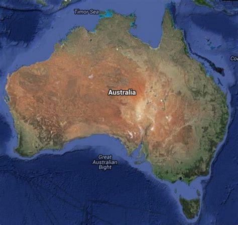 australia google map geographic media