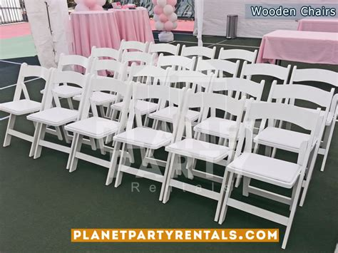 table and chair rentals san fernando valley tables chairs plastic wood chairs rectangular and