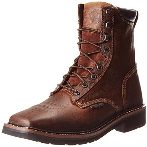 justin steel toe lace up boots justin s stede 8 quot lace up work boot steel toe