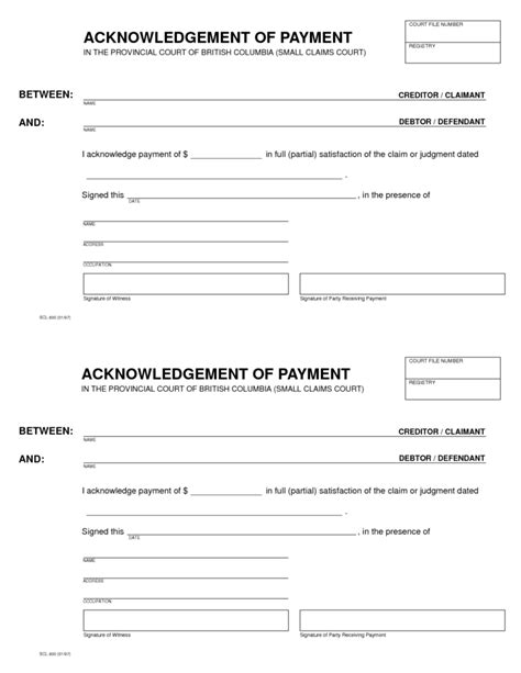 Acknowledgement Letter Payment Acknowledgement Receipt Of Payment Letter Sles Vlashed