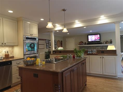Half Wall Between Kitchen And Living Room by 42 Best Images About Kitchen Pass Thru Renovation On