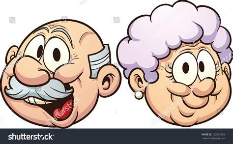 clipart nonni grandparents vector clip illustration stock