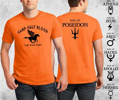 c half blood t shirt percy jackson costume 2