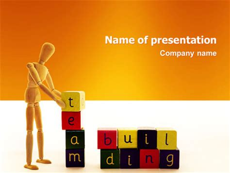 Team Building Presentation Template For Powerpoint And Team Building Powerpoint Presentation Ppt