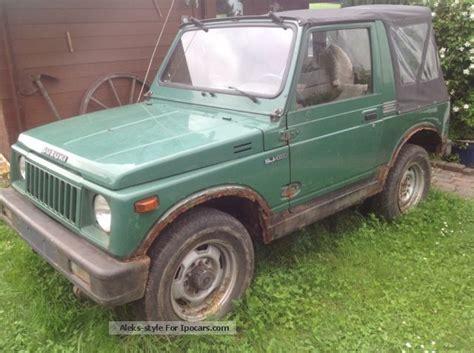 Suzuki Sj Parts 1985 Suzuki Sj 410 Car Hobbyist Or For Spare Parts Car